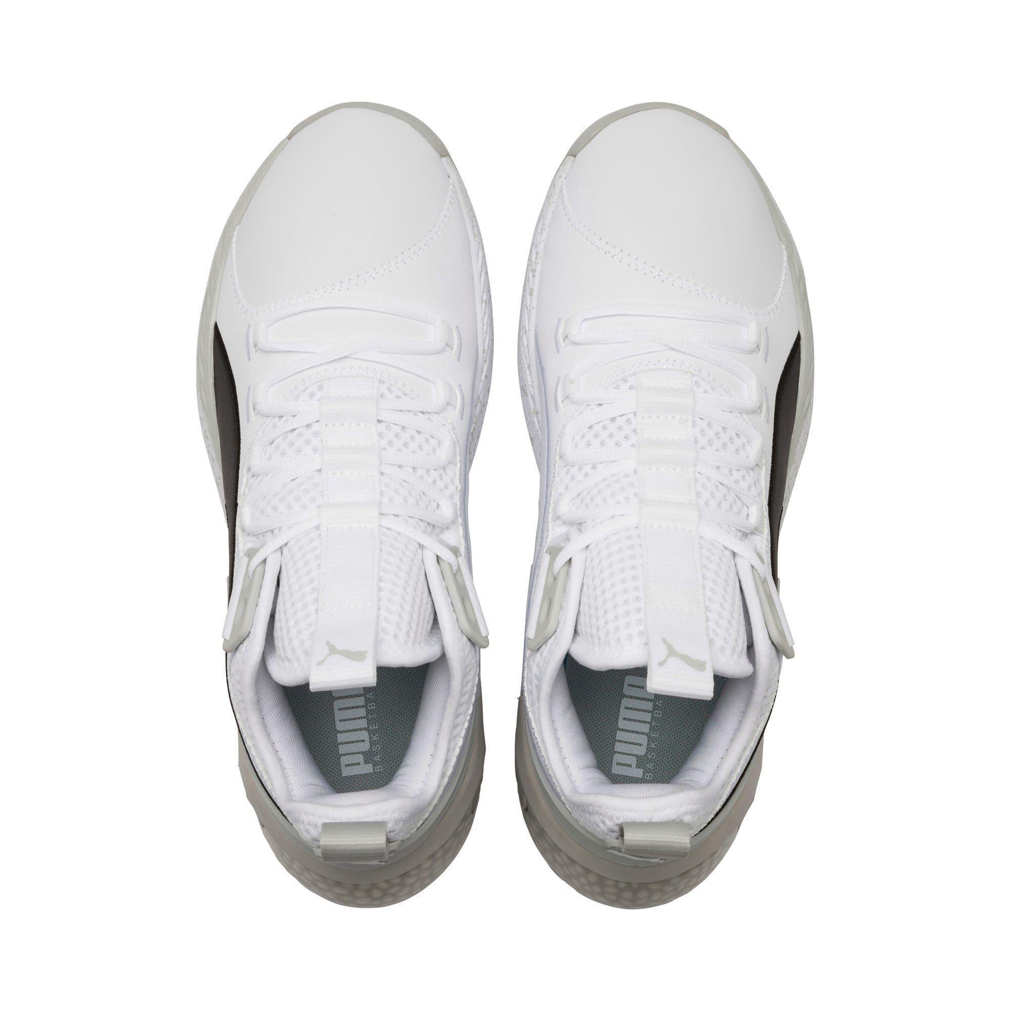 PUMA Chaussure de basket Uproar Core pour Homme, BlancGris