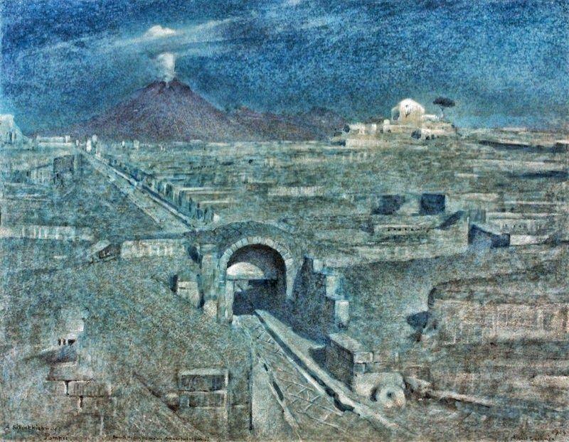 Albert Goodwin ~ Victorian Visionary landscapes | Tutt'Art@ | Pittura * Scultura * Poesia * Musica |