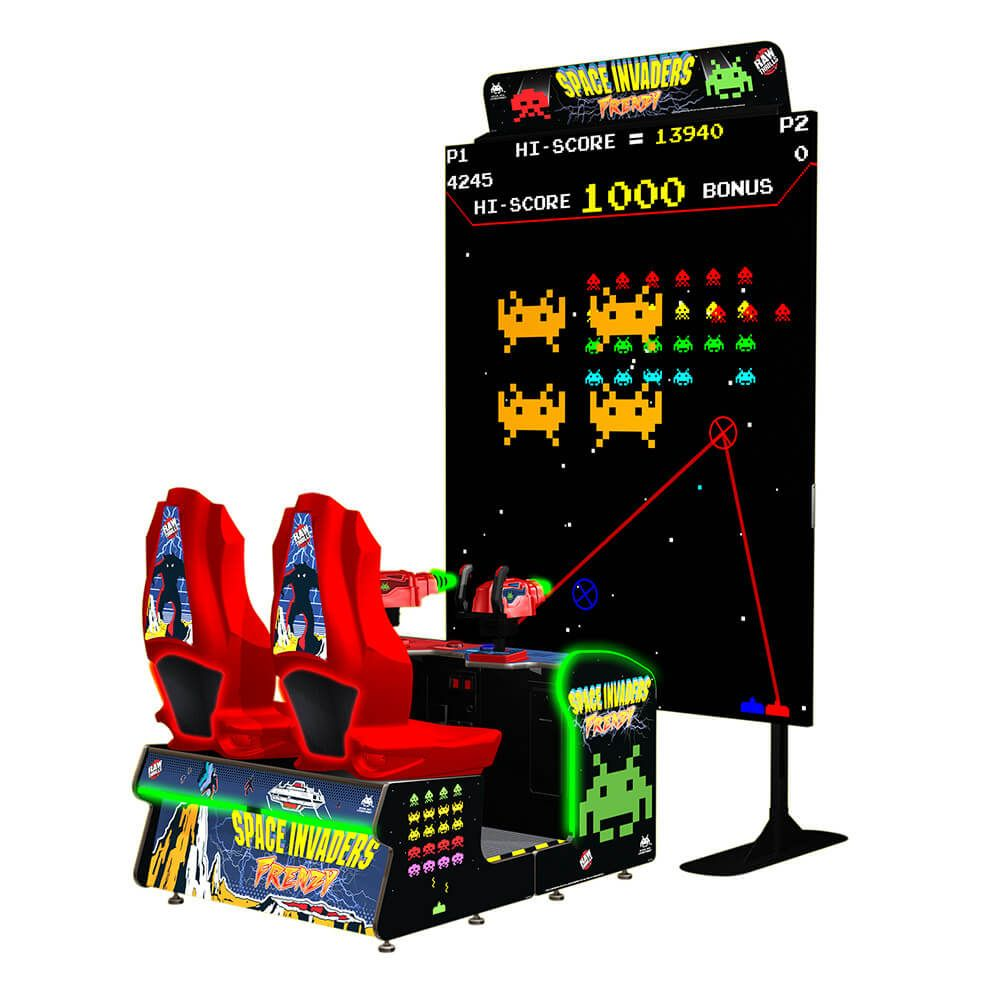 Buy Space Invaders Frenzy Arcade Game Online At 13999 Arcade Games Retro Arcade Games Arcade