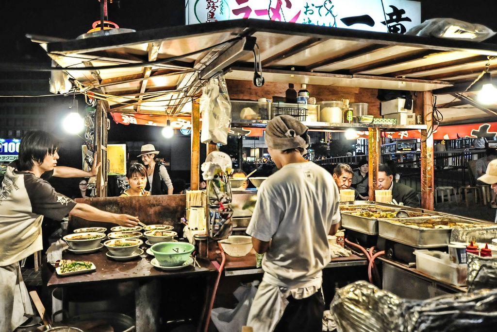 Yatai Food Cart Food Cart Japan Street Food Asian Street Food