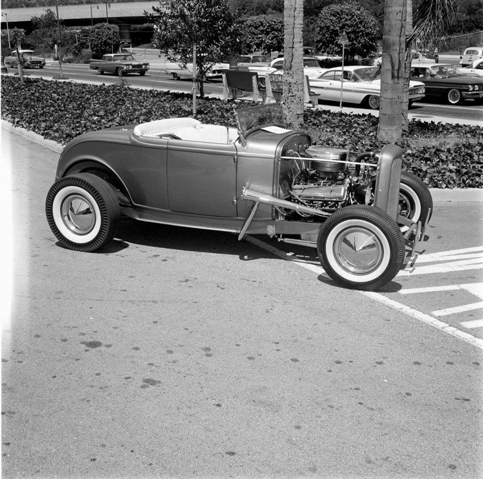 Olds Powered Deuce Roadster