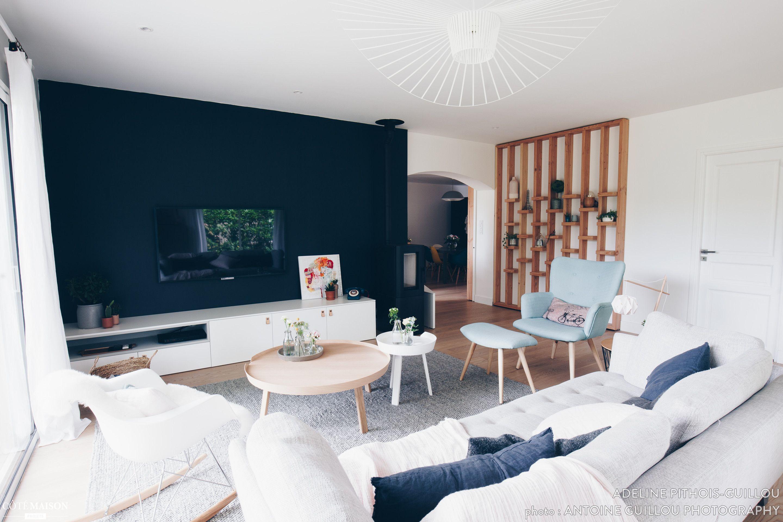 Le salon de cette maison rénovée s inspire du style scandinave