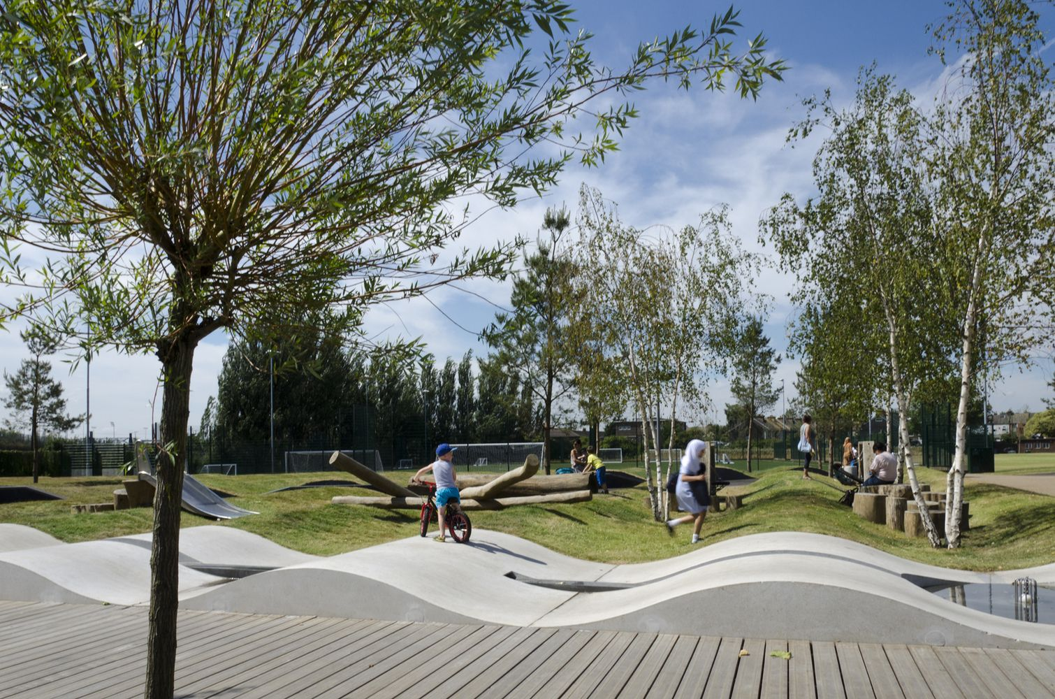 Gallery of drapers field kinnear landscape architects for Kinnear landscape architects