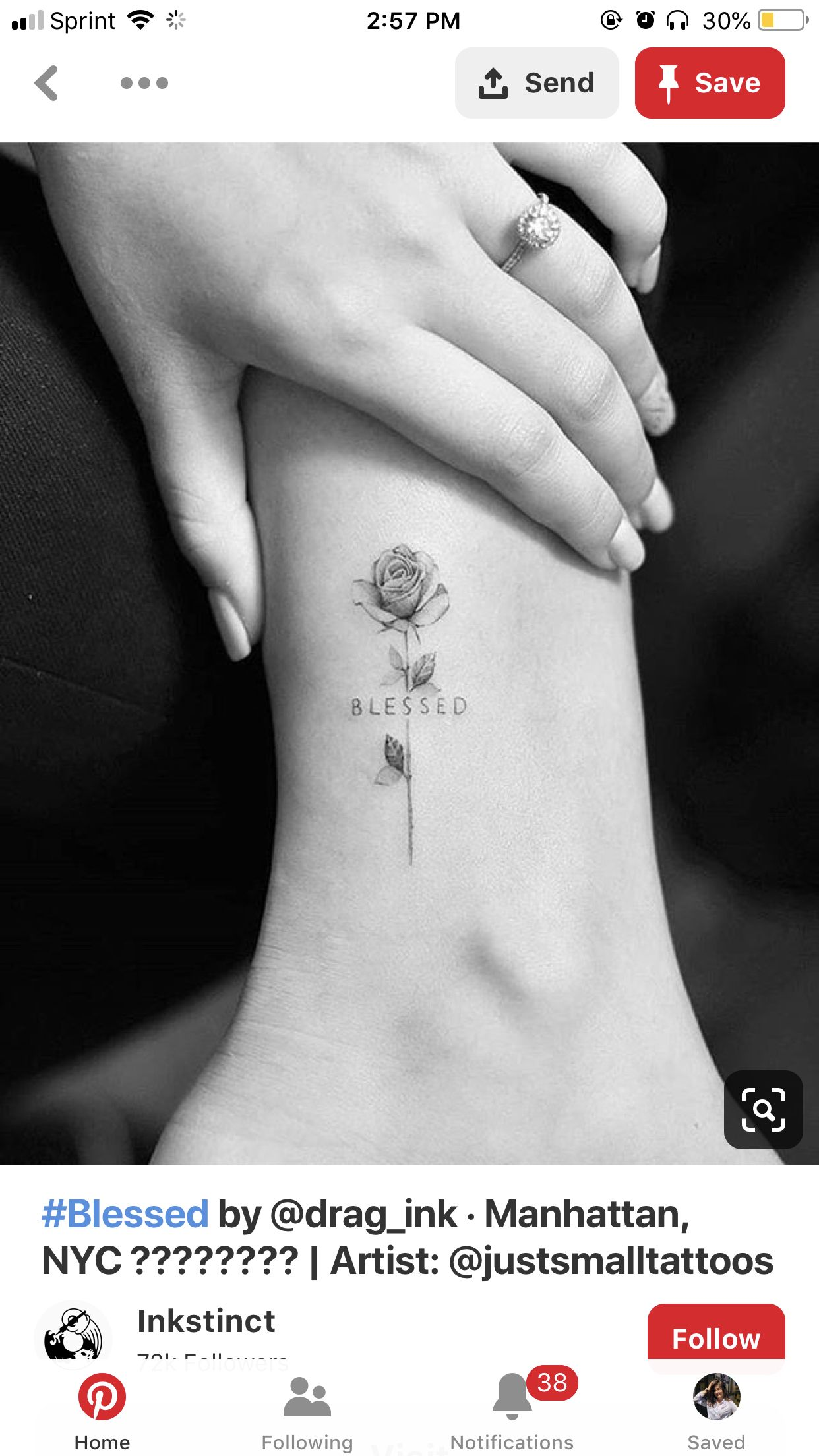 a2bdc54e08242 Pin by Lucy Hamaamen on Tatted ideas | Rose tattoos, Tattoos, Flower ...