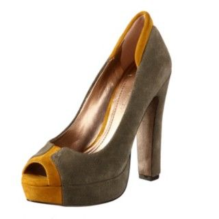 @Overstock - These stunning suede heels from BCBGeneration feature a grey and mustard yellow design. A 5-inch heel and a 1.25-inch platform add stylish height to these lovely heels.http://www.overstock.com/Clothing-Shoes/BCBGeneration-Womens-Jodeci-Heels/6385421/product.html?CID=214117 $67.99