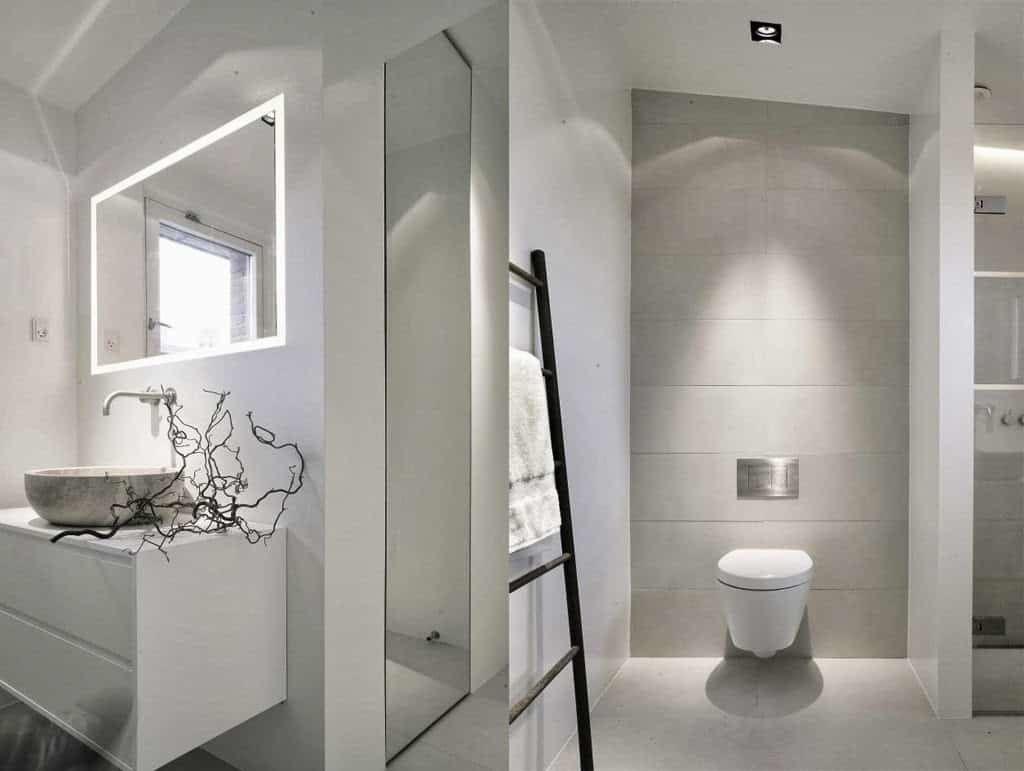 Badezimmer Verlockend Fliesen Im Badezimmer Ideen: Modernes Bad Ohne Fliesen U2026