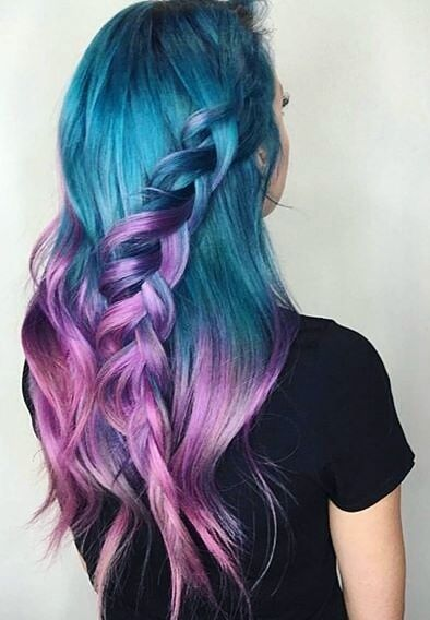 33 Cool Pastel Hair Color Ideas You Ll Love Page 13 Of 34 Top Trendy Hairstyles Mermaid Hair Color Hair Color Pastel Girl Hair Colors