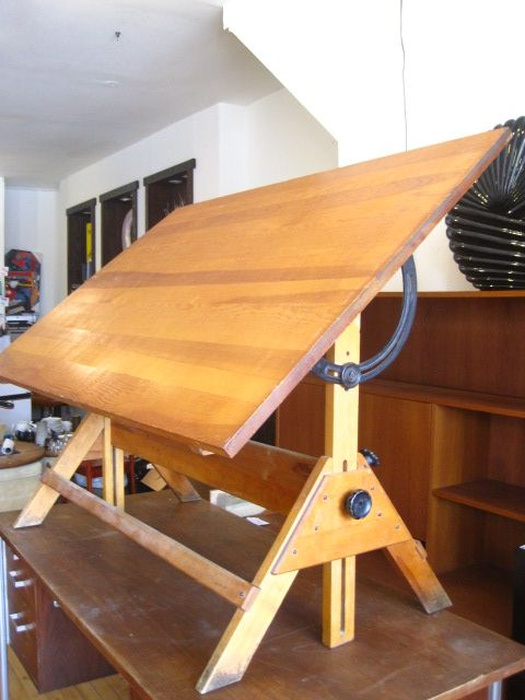 Drafting Table Vintage Drafting Table Woodworking Inspiration