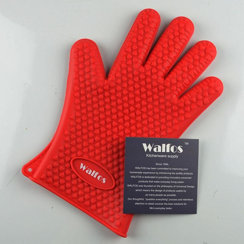 Silicone Kitchen Glove Pc Food Grade Heat Resistant Cooler Than An Oven Mitt