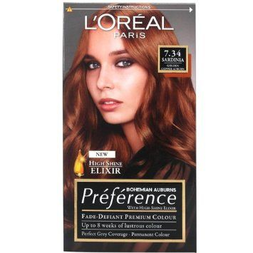 L Oreal Recital Preference Sardinia 7 34 Amazon Co Uk Beauty