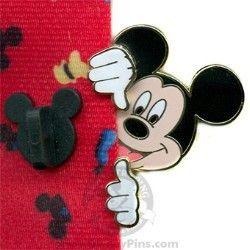 Disney Lanyard Peeker Pin - Mickey Mouse