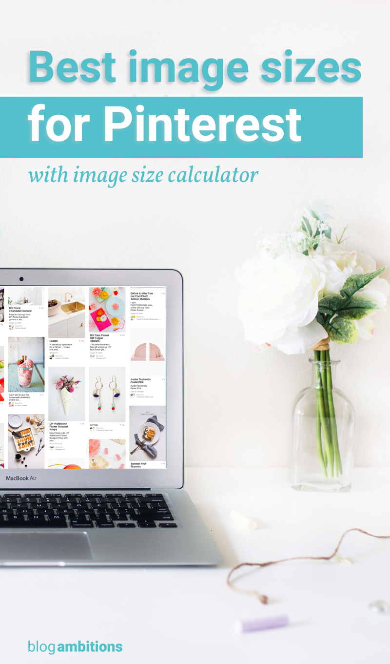 An in depth look at what size you should make images for your Pinterest Pins…
