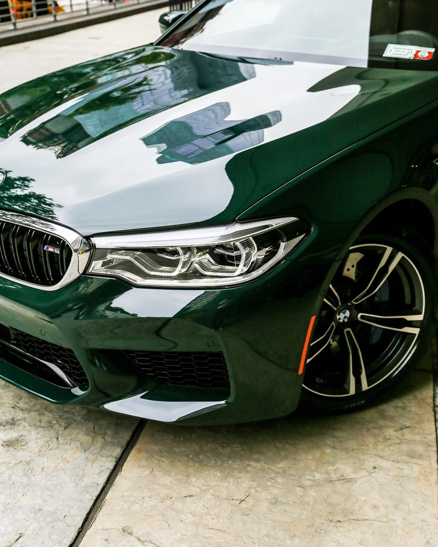 A 2020 Bmw F90 M5 Painted In The British Racing Green From Bmw
