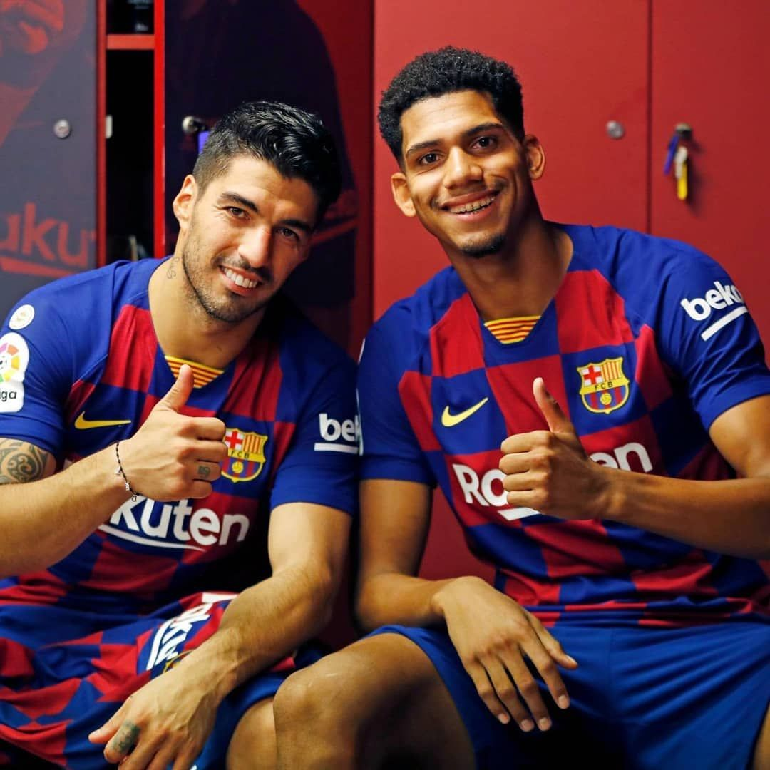Ronald Araujo (20) is a centre-back for the future. Barcelona ...