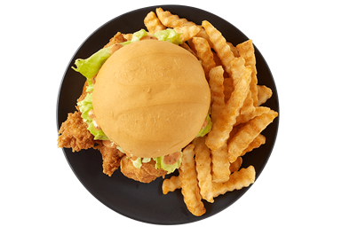 Chicken Finger Sandwich Only Yummy food, Meals
