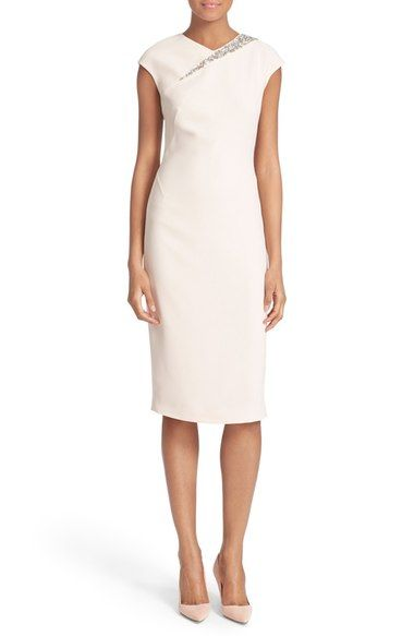 67b61a0f73fba Ted Baker London  Floray  Embellished Sheath Dress available at  Nordstrom
