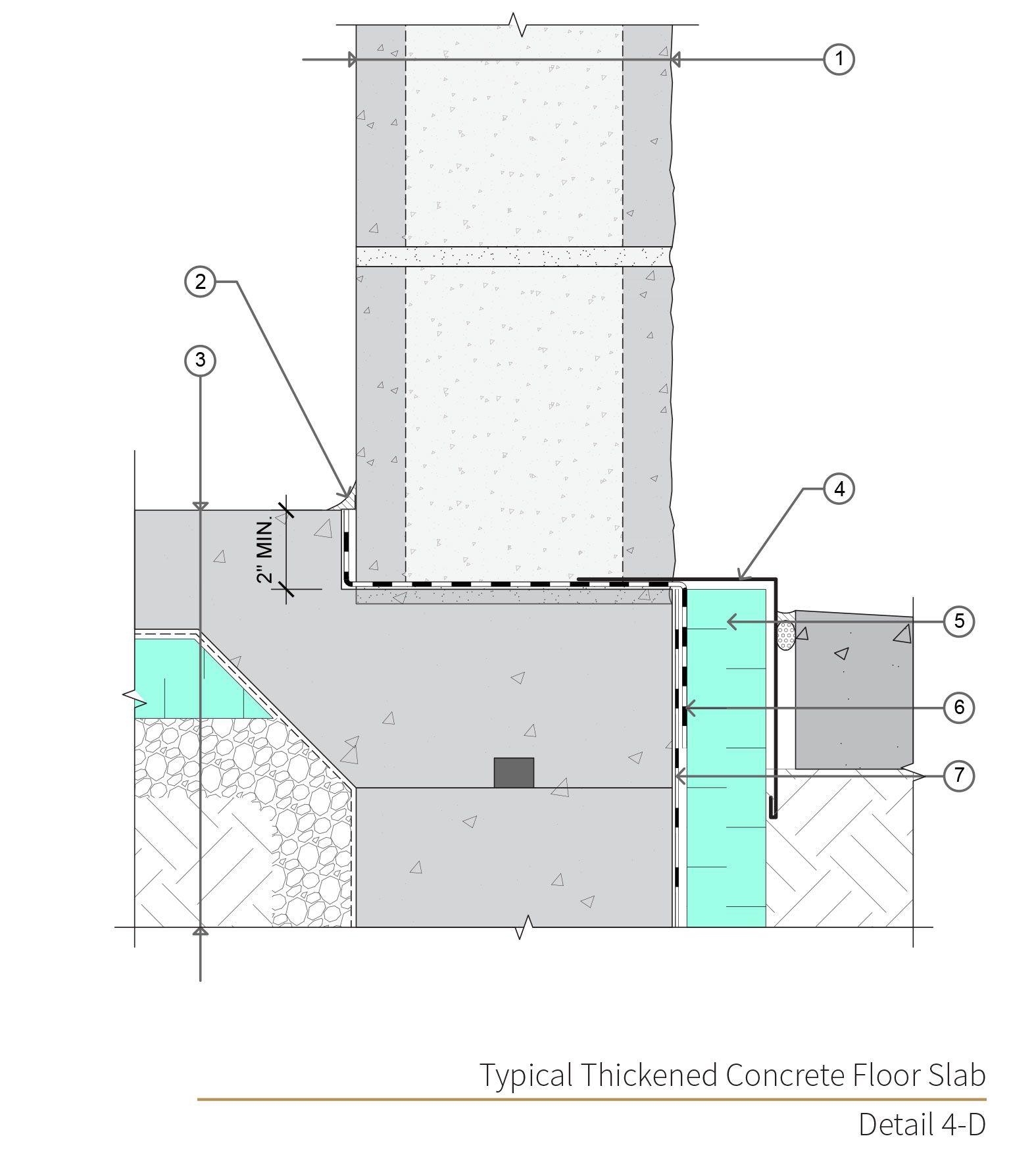 Assembly 4 Detail 4d Concrete Masonry Unit Masonry Wall Design