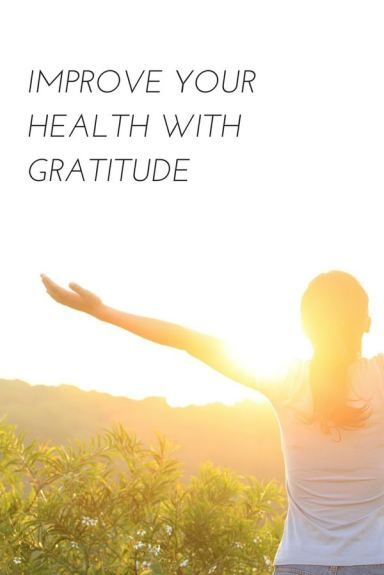 Gratitude may be able to help heal your heart and spirit.