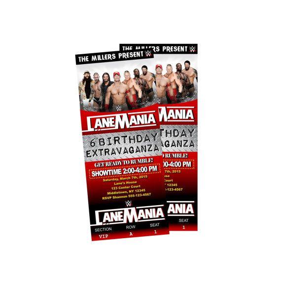 Invite wrestling birthday party by paigepartyprintables on etsy invite wrestling birthday party by paigepartyprintables on etsy filmwisefo