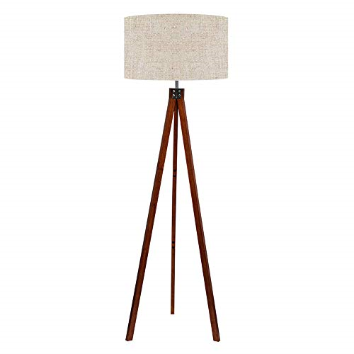 Details About Living Room Wood Tripod Standing Floor Lamps Modern Design On Off Foot Switch In 2020 Tripod Floor Lamps Floor Standing Lamps Modern Floor Lamps