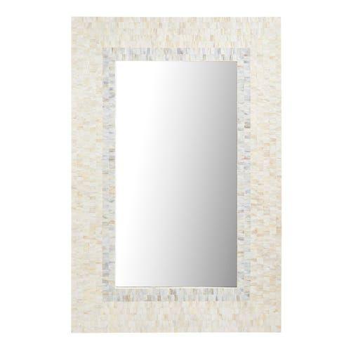 Pier One Mother Of Pearl Floor Mirror
