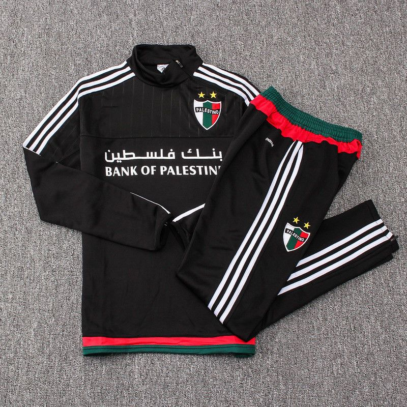 Deportivo Palestino TRAINING SUIT WHITE   BLACK FUSSBALL JERSEY FOOTBALL  SHIRT  ClubDeportivoPalestino 33dddc26e
