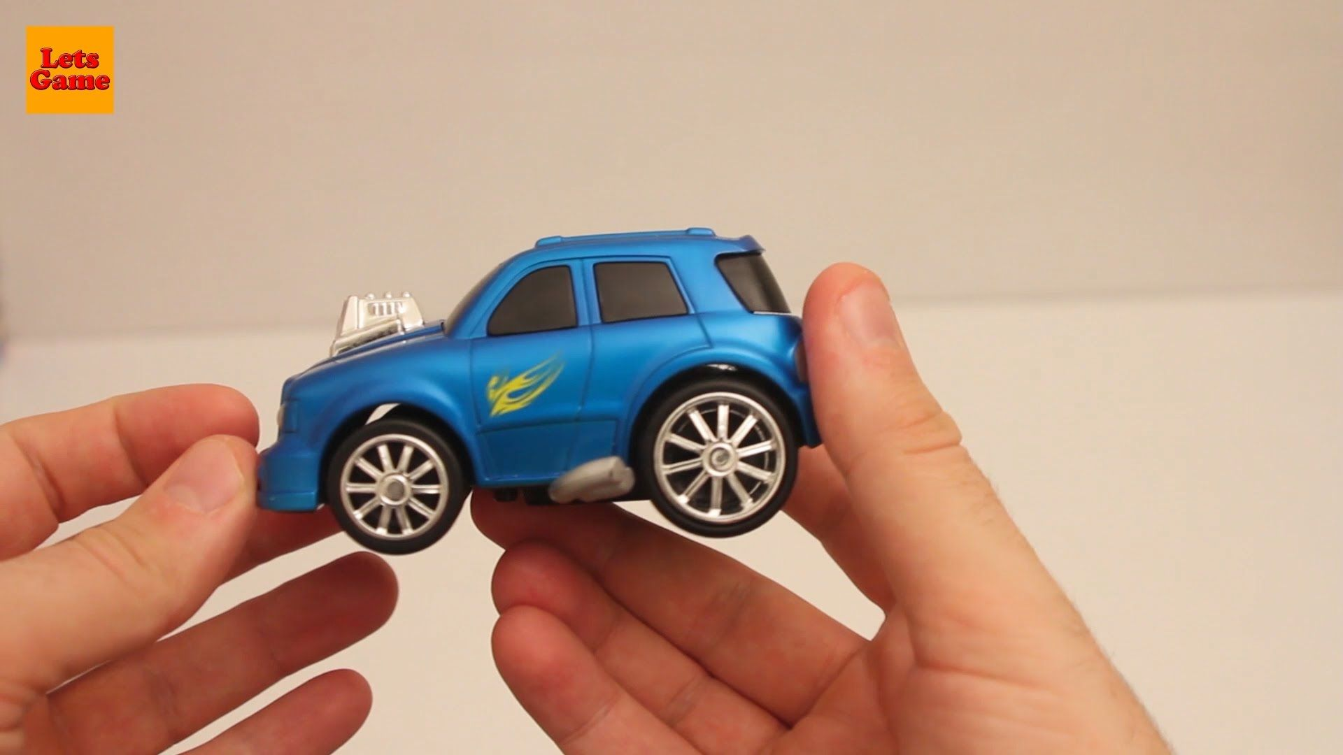 Playing Blue Small Car for Kids