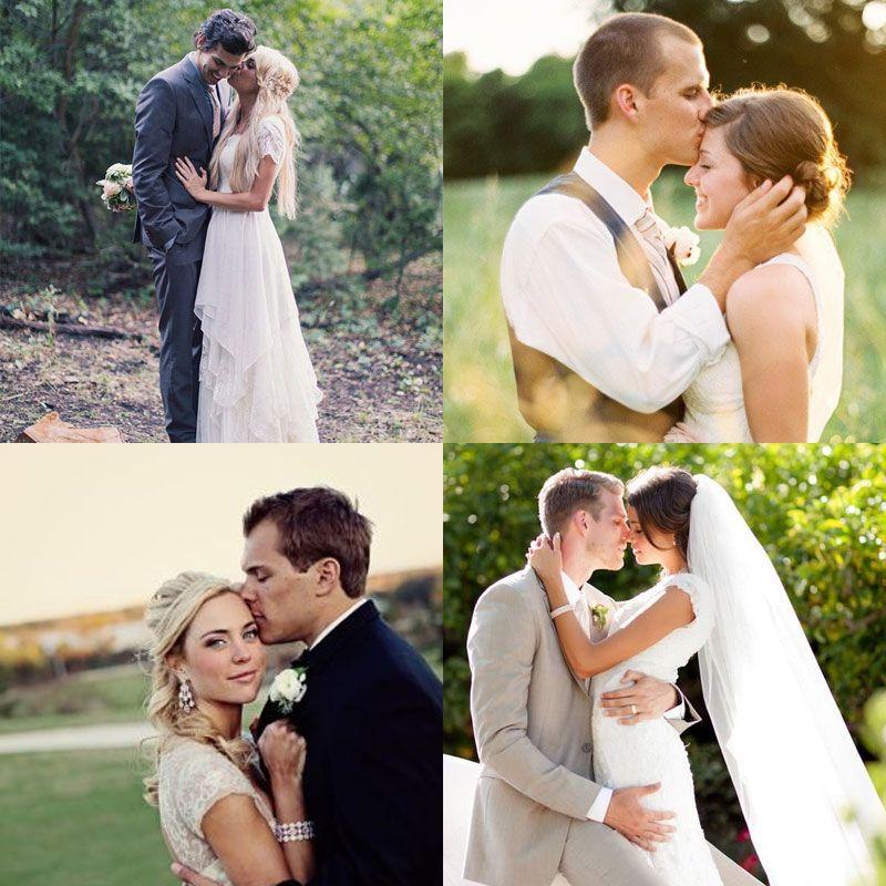 Удачные позы свадьба