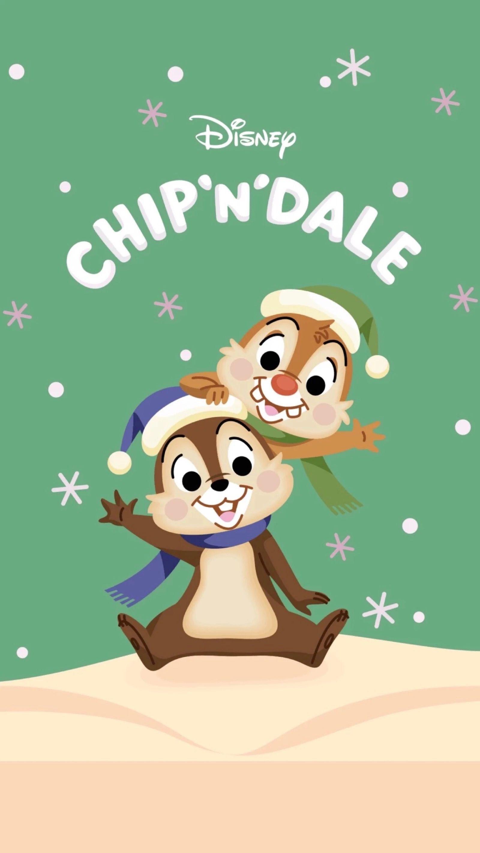Chip N Dale Wallpaper Disney Background Disney Phone