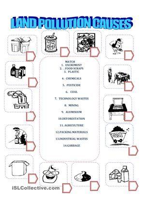 land pollution my worksheets pinterest worksheets social studies and teacher. Black Bedroom Furniture Sets. Home Design Ideas