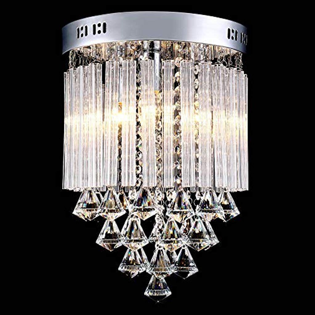 Lightess Moderne Kristall Kronleuchterleddeckenleuchtekristallkronleuchterkristalllampe Decke Beleuchtungpendelleuchte Kristall Lampe Beleuchtung Kronleuchter