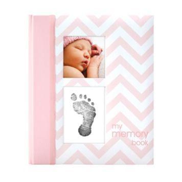 Pearhead Chevron Memory Baby Book/