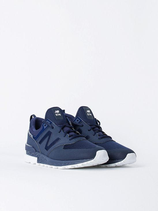 new arrival f554a b8e8f APLACE MS574SNV Navy - New Balance | Men's Sneakers | New ...