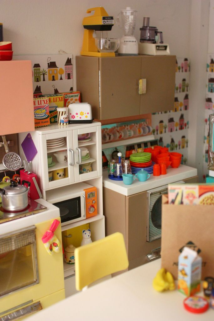 Re-Ment Clean Kitchen New in Package Blythe Barbie Size Does not include kitchen