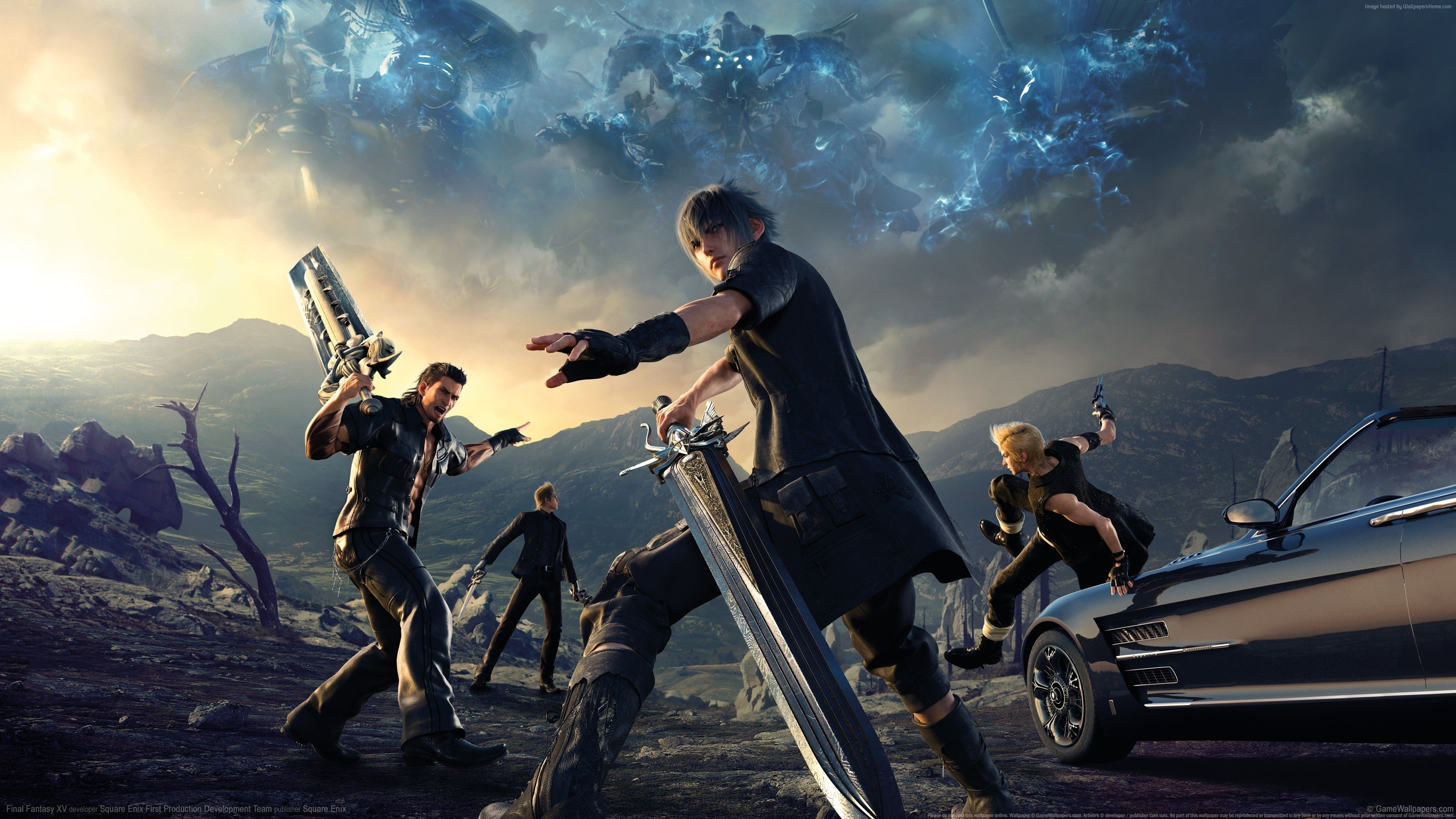 Pin By Lucas Opstad On Individualism Final Fantasy Xv Wallpapers
