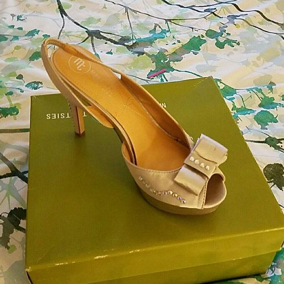 A pair of sandals High heel platform sandals mootsies tootsies Shoes Sandals