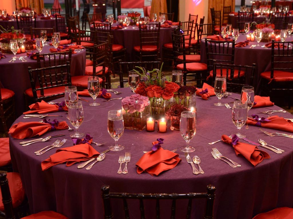 Purple And Red Fav Colors Indian Wedding
