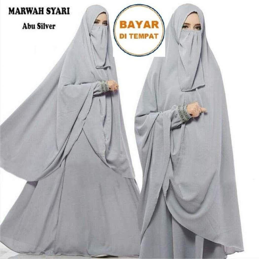 Baju Gamis Jilbab Panjang  Baju muslim, Wanita, Muslim