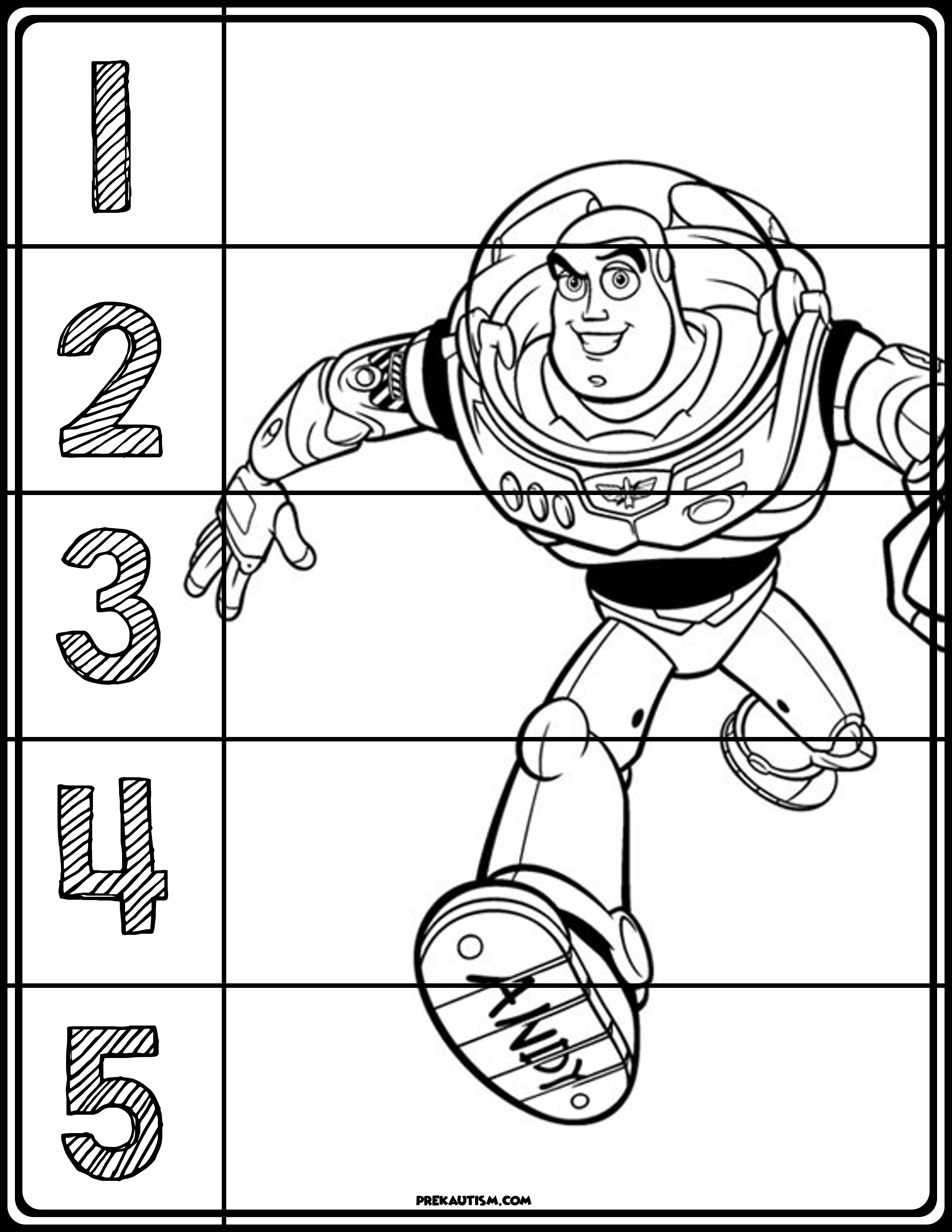 Toy Story Puzzles (With images) | Toy story, Color ...