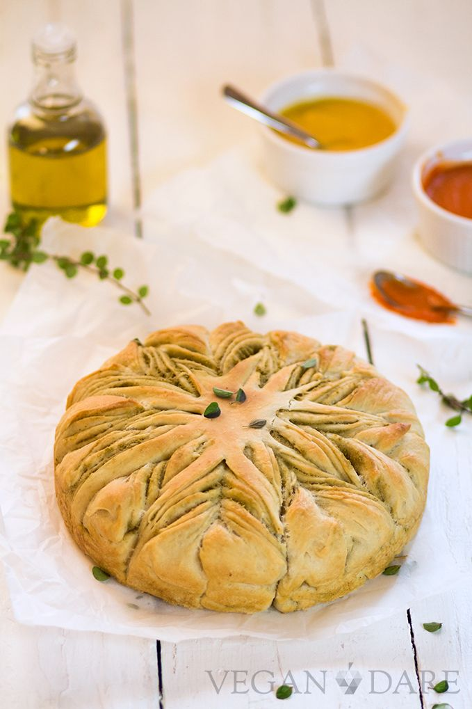 stella alle olive -- olive bread star. scroll down for english recipe
