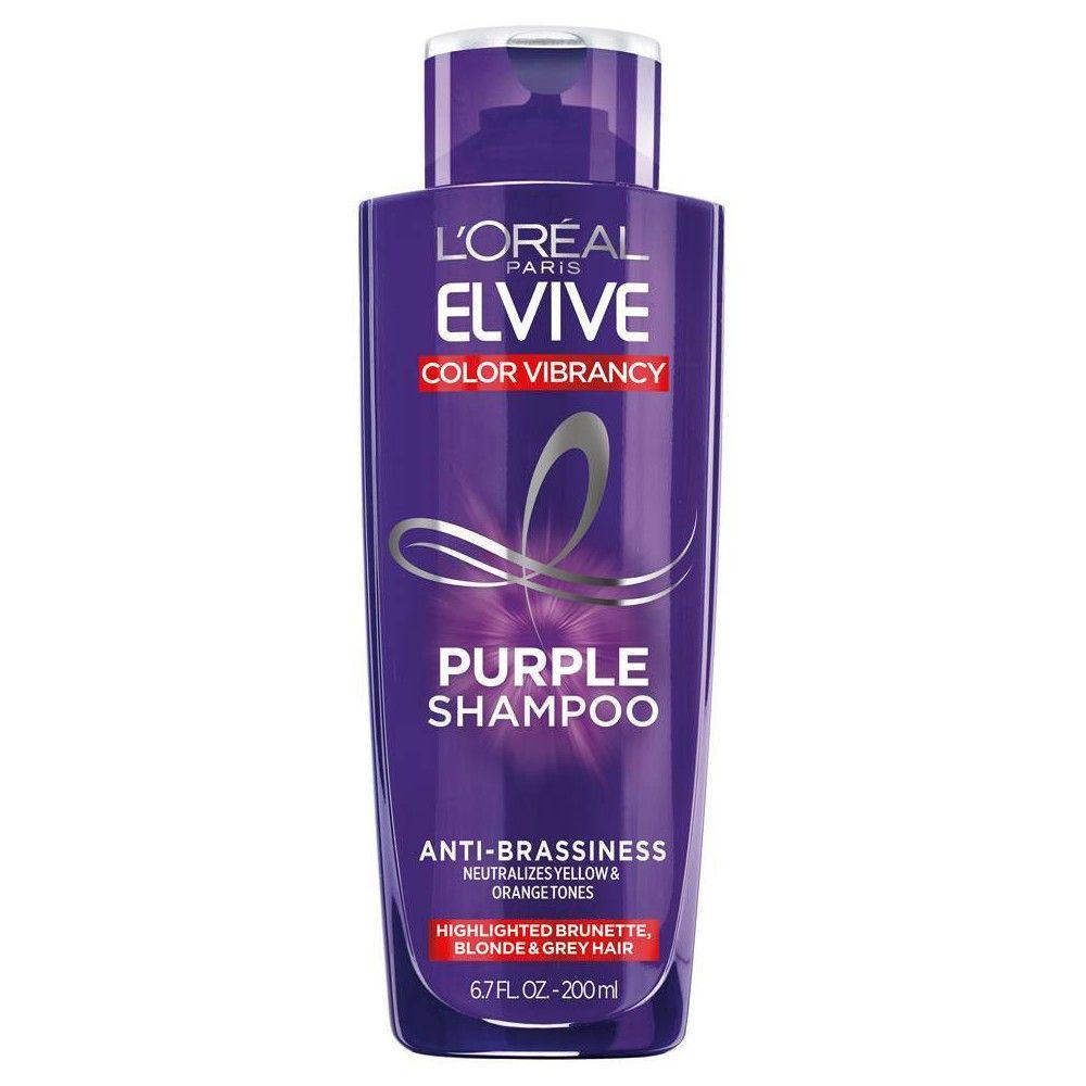 L Oreal Paris Elvive Purple Shampoo 6 8 Fl Oz In 2021 Purple Shampoo Purple Conditioner Coconut Milk Conditioner