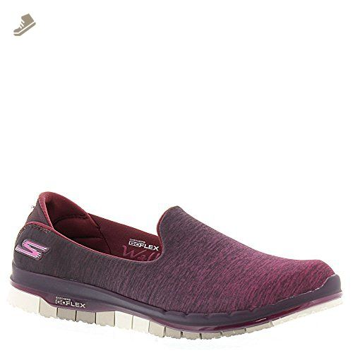 Skechers Go Flex Walk Muse Womens Slip On Walking Sneakers