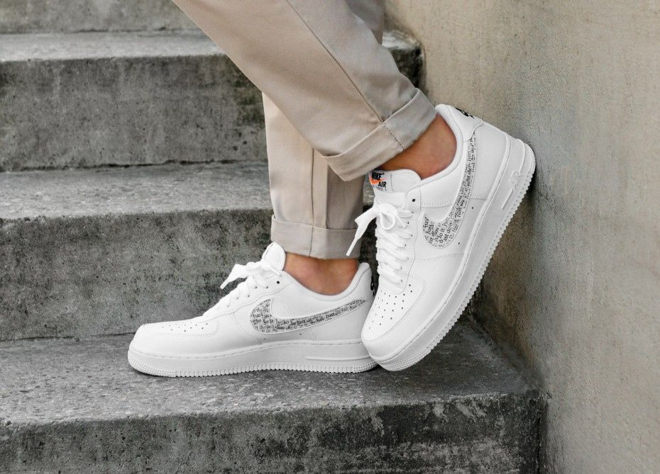 Nike Air Force 1 Just Do It White Nike Air Force Nike Shoes Air
