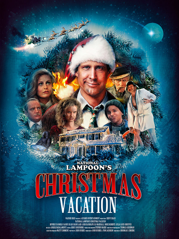 Featuring The Best Alternative Movie Posters Celebrating Movies Art Des National Lampoons Christmas Vacation Movie Christmas Vacation Movie Vacation Movie