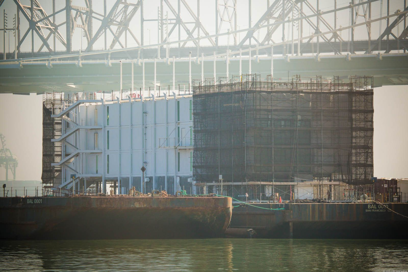 San Francisco S Bay Barge Mystery Floating Data Center Or Google