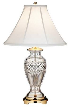 Table Lamp Crystal Lamps, Waterford Crystal Lamp Patterns