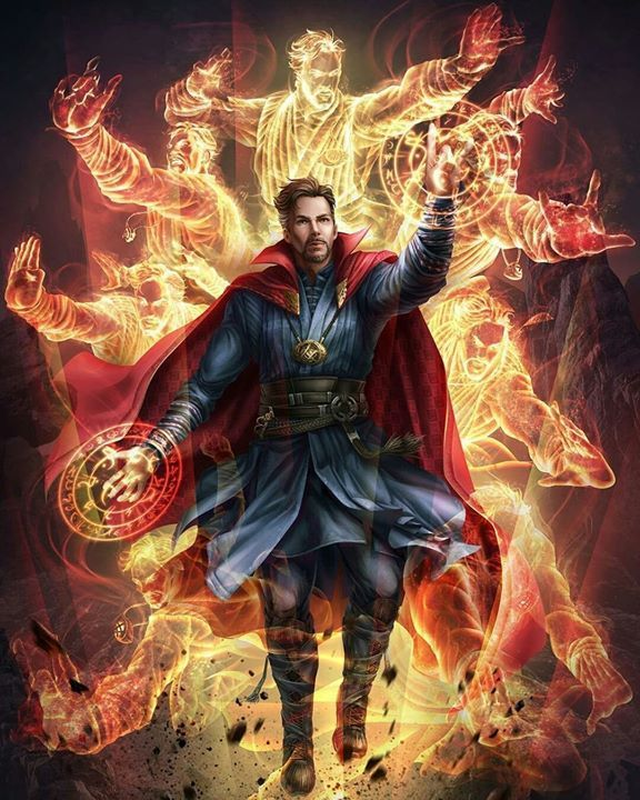 Doctor Strange #rvrsuperheroes - RVR Superhelden - www.facebook.com / ... - Young Lady Fashion #marvelavengers