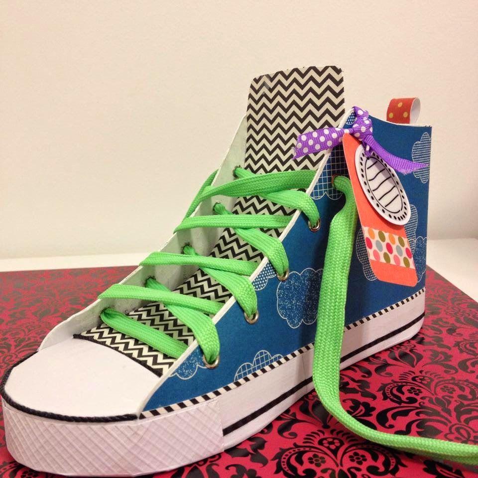 Sneaker made by Shazeeda Shakoor