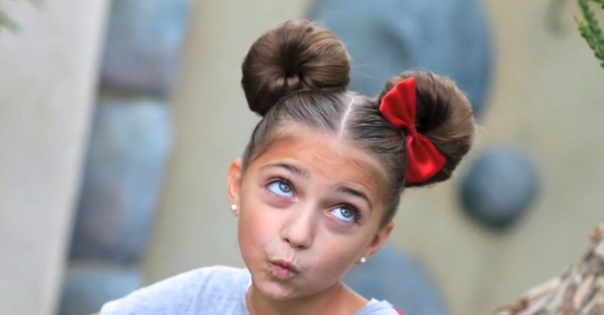 Find out how to do this adorable Disney hairdo! I did this for my ...