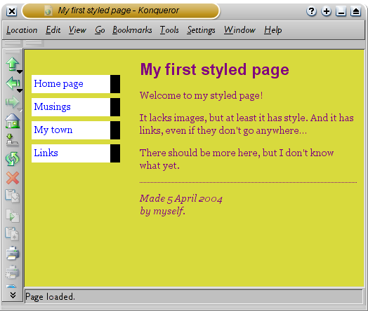 Free css style sheets download